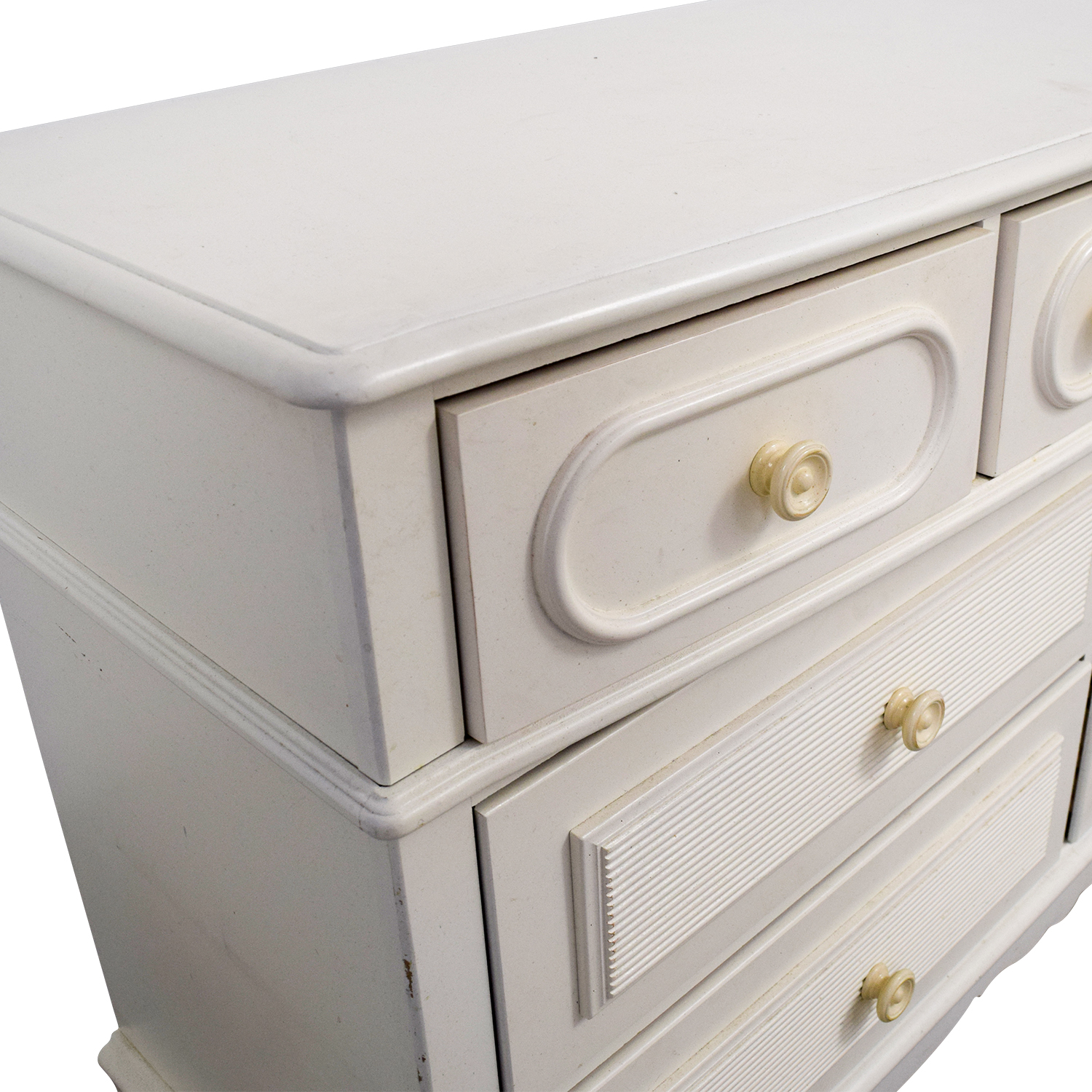 ... Stanley Furniture Stanley Furniture Eggshell Seven Drawer Dresser On  Sale ...
