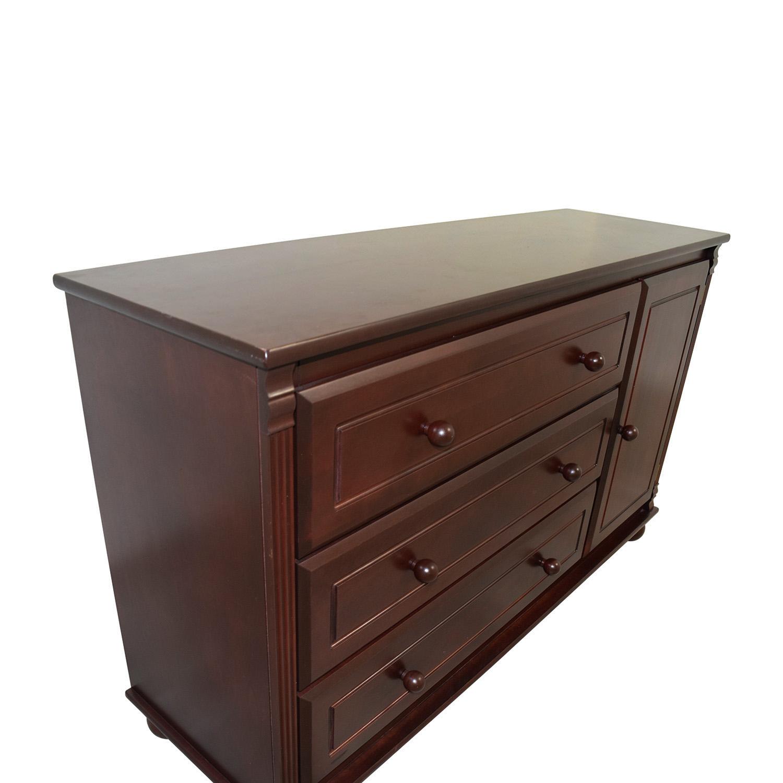 Bellini Bellini Jessica Three Drawer Dresser with Shelf Cabinet Storage