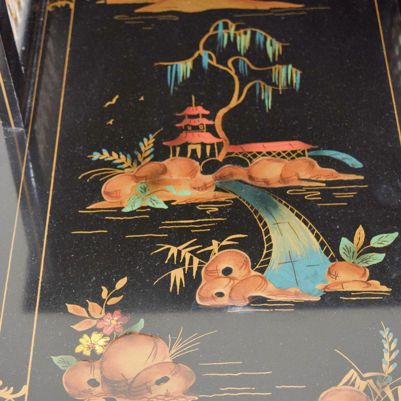 Antique Katherine Henick Painted End Table sale
