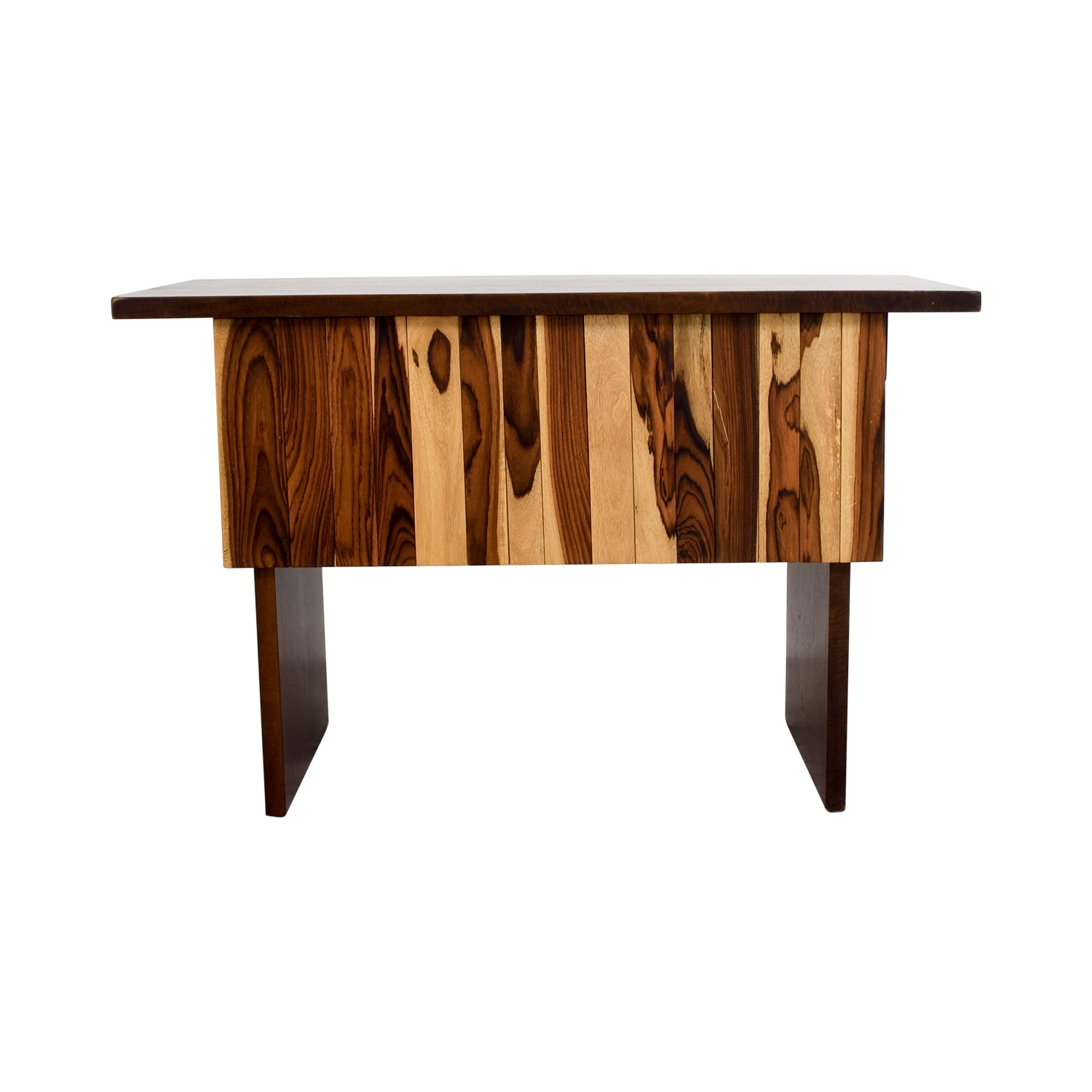 shop Custom Indonesian Hardwood Mango and Snokeling Wood Desk Home Office Desks