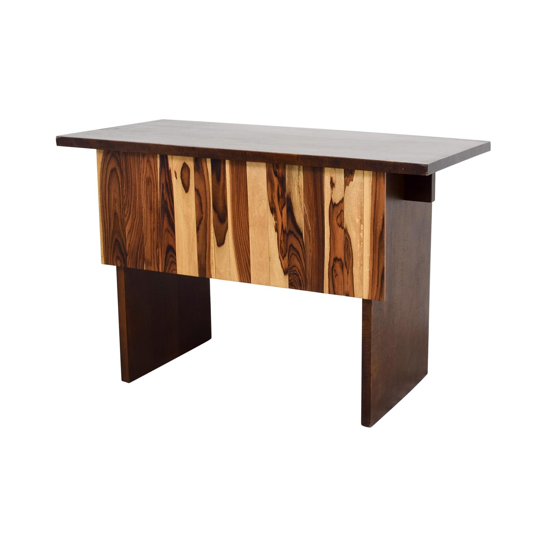 Custom Indonesian Hardwood Mango and Snokeling Wood Desk / Tables