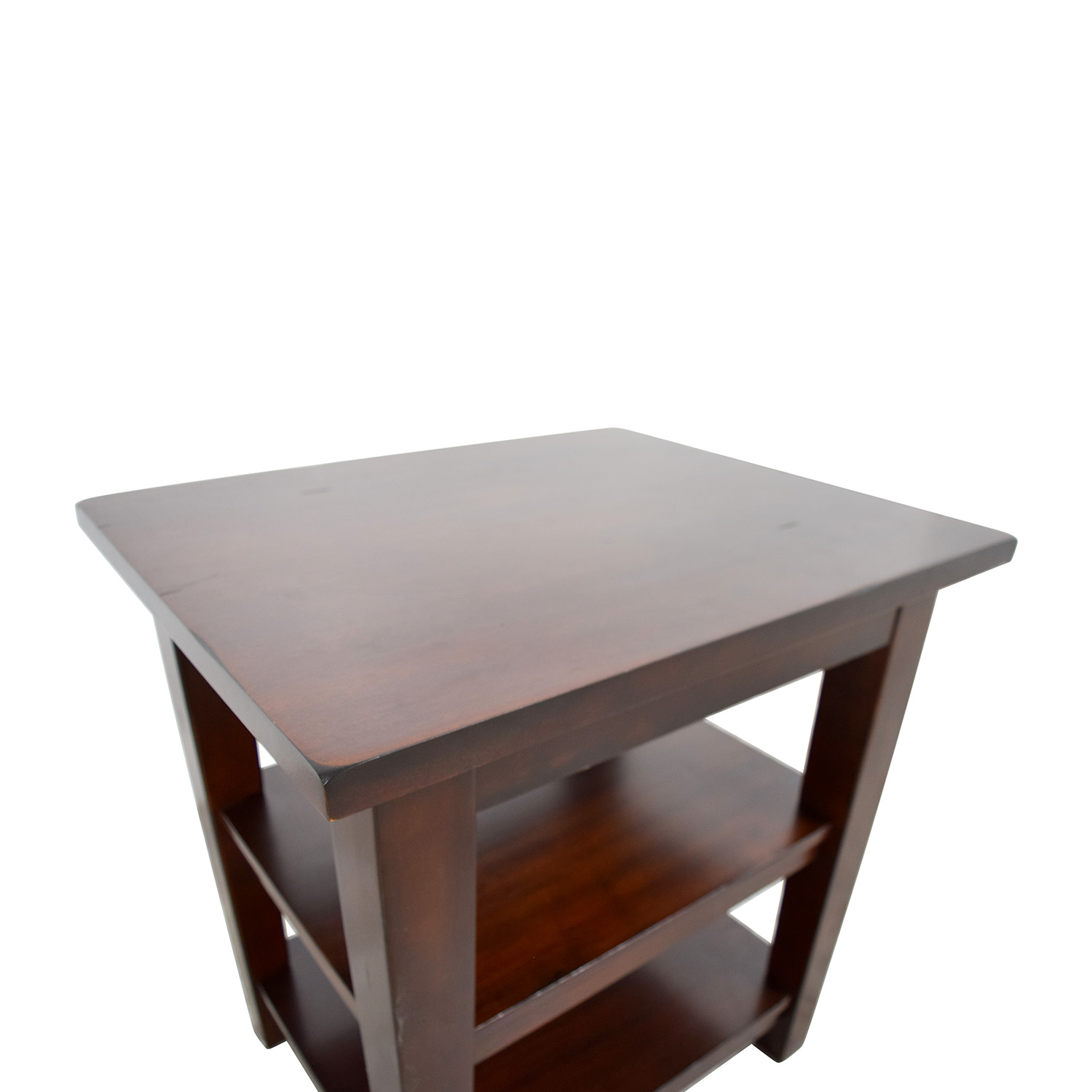 Pier 1 Pier 1 Wooden End Table discount