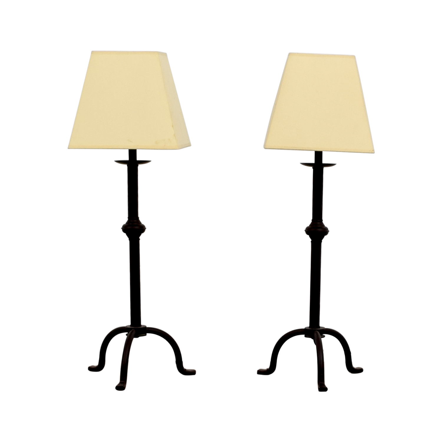 36 Off Pottery Barn Pottery Barn Buffet Table Lamps Decor