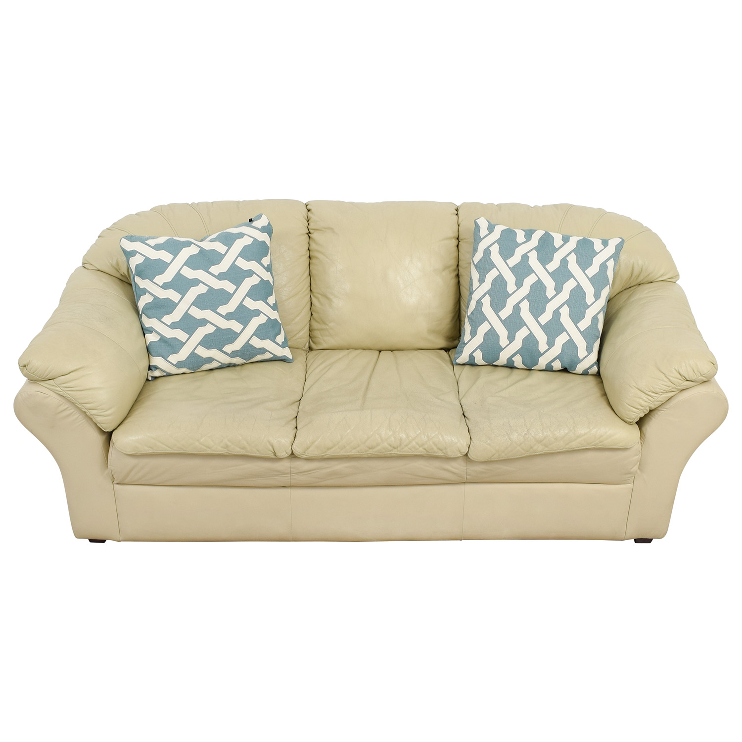 Mals Brooklyn Furniture Mals Brooklyn Furniture Beige Sofa second hand