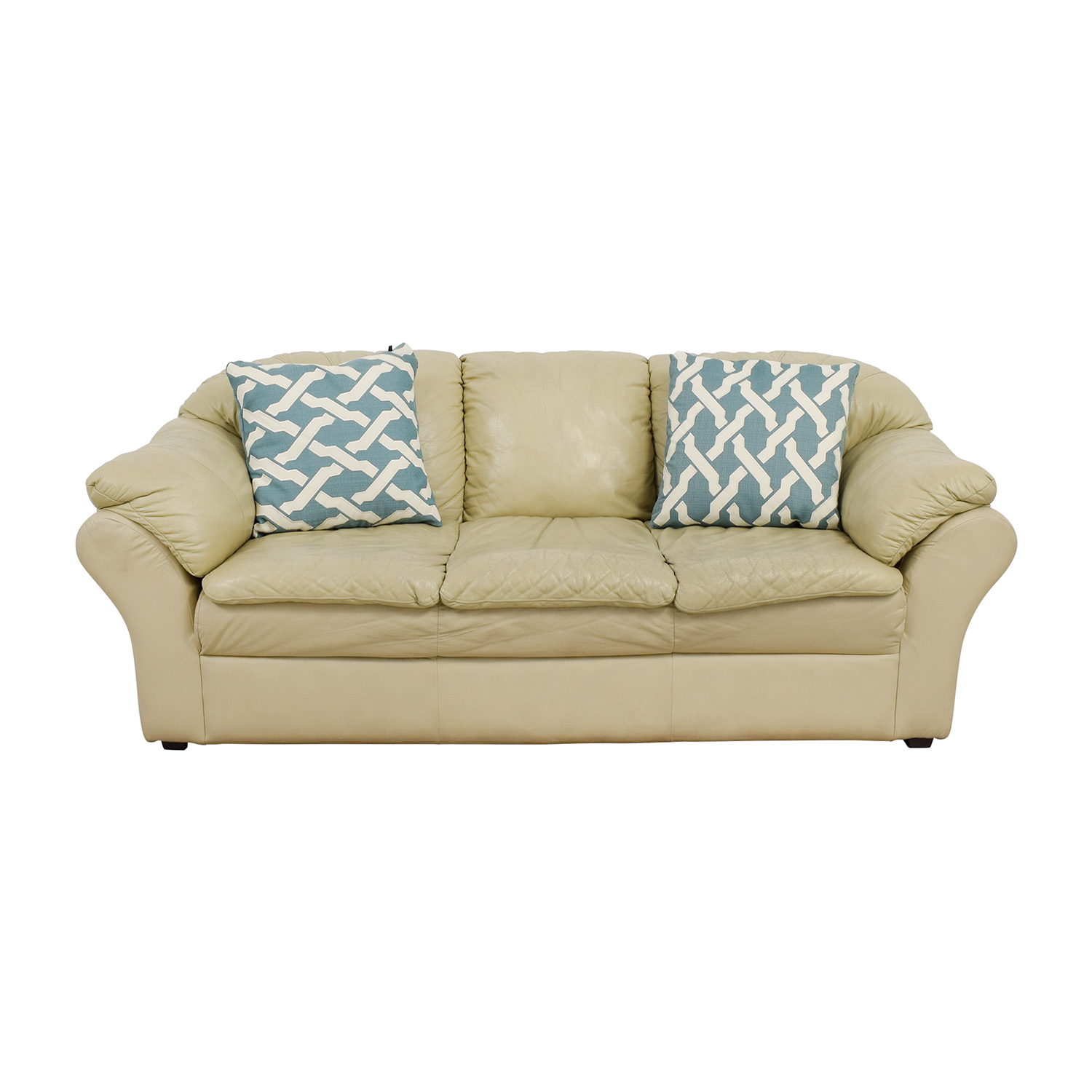 Mals Brooklyn Furniture Beige Sofa / Sofas