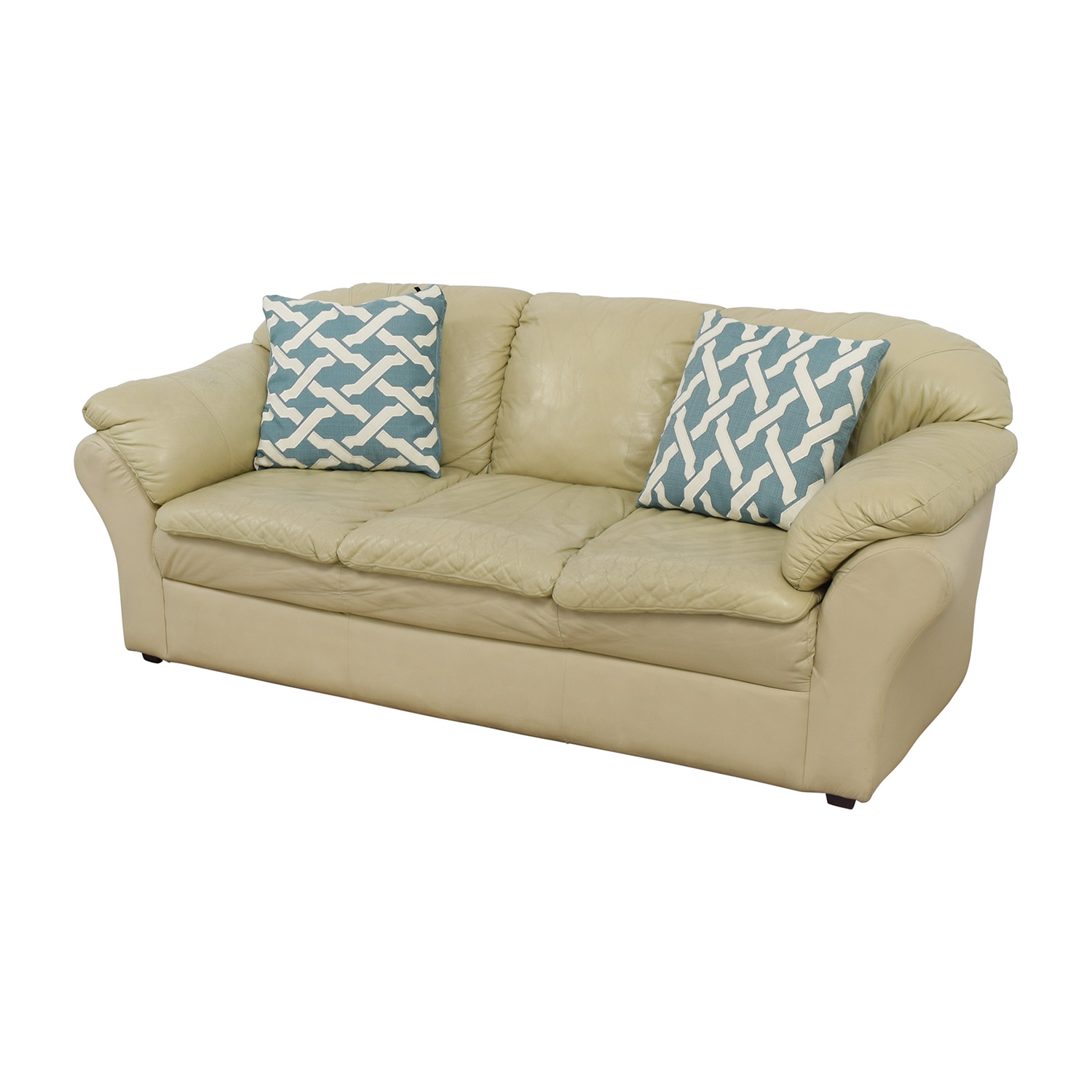 Mals Brooklyn Furniture Mals Brooklyn Furniture Beige Sofa on sale