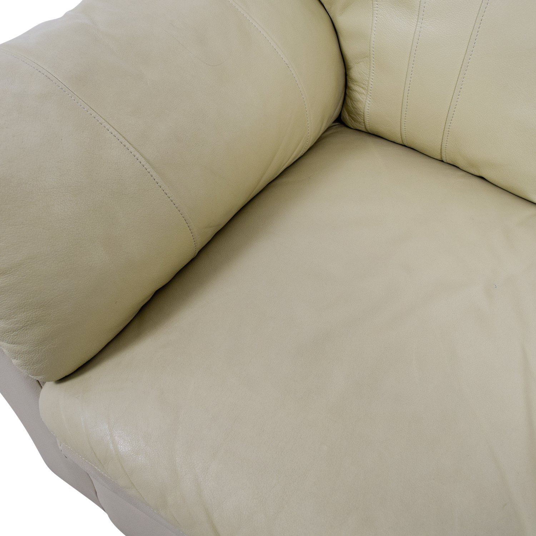 Mals Brooklyn Furniture Mals Brooklyn Furniture Vanilla Leather Love Seat coupon
