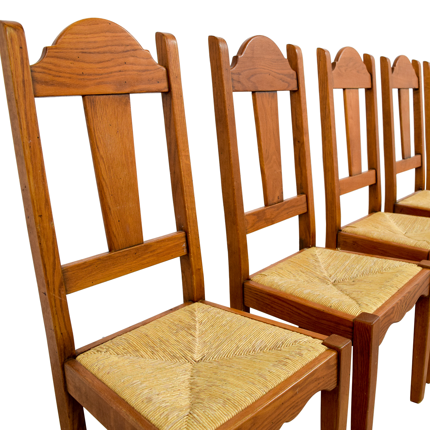 ABC Carpet and Home ABC Carpet and Home Rush Weave Wood Chairs nyc