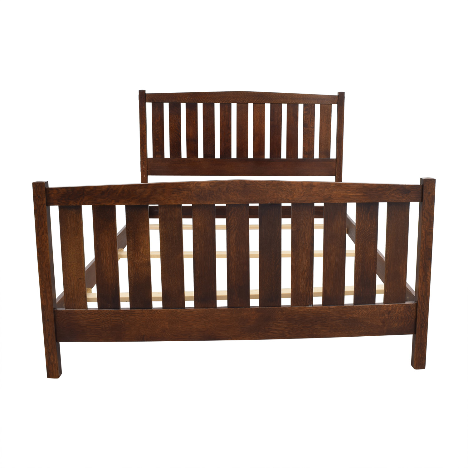 Stickley Mission Queen Bed Frame sale
