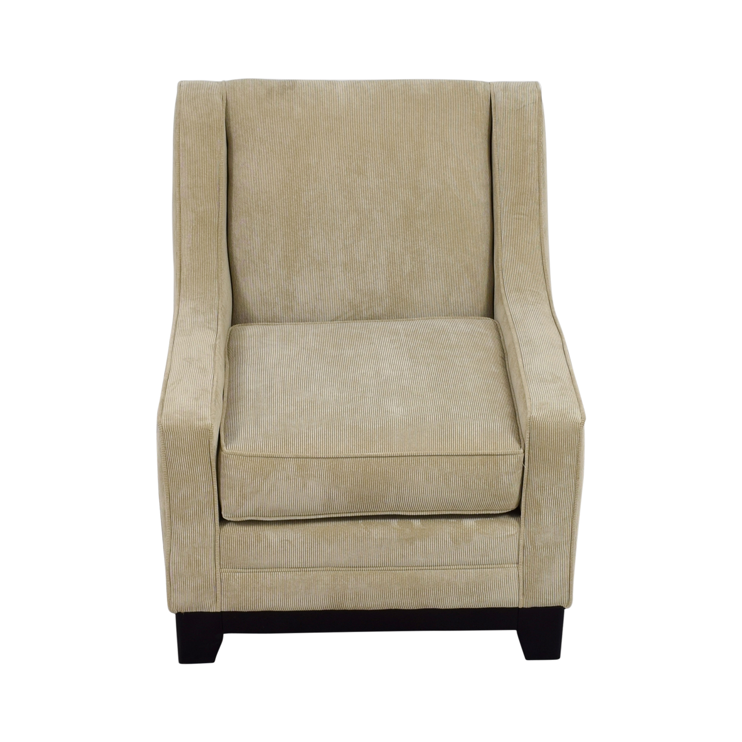 buy May Furniture Tan Corduroy Accent Chair May Furniture