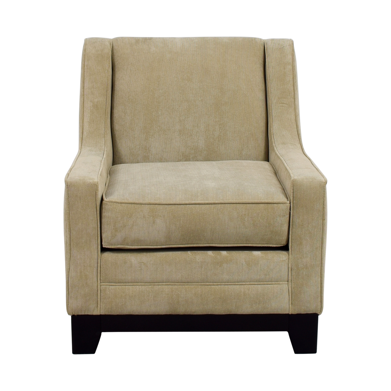 shop May Furniture Tan Corduroy Accent Chair May Furniture Chairs