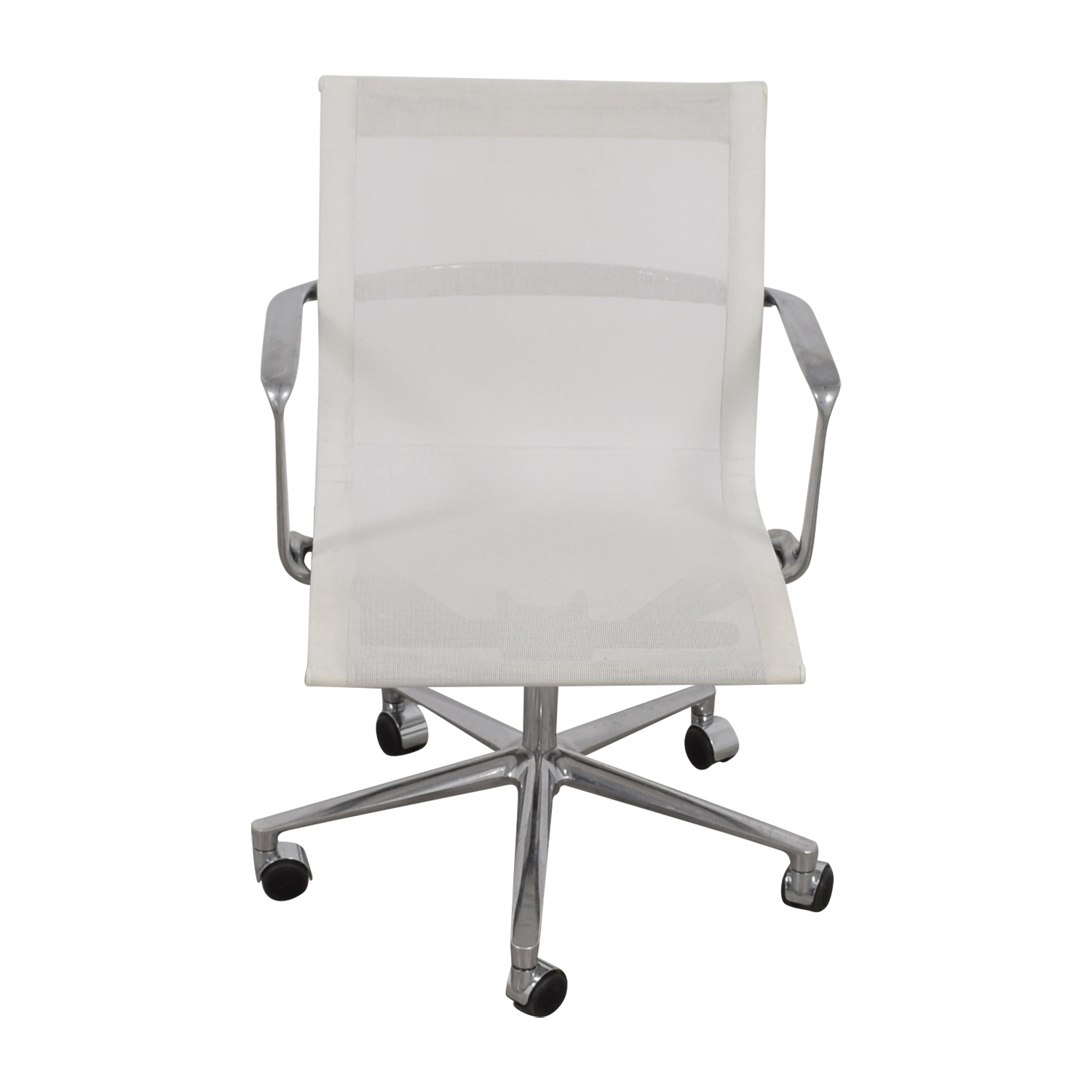 International Catsana Furniture International Catsana Furniture Una White Mesh Chair coupon