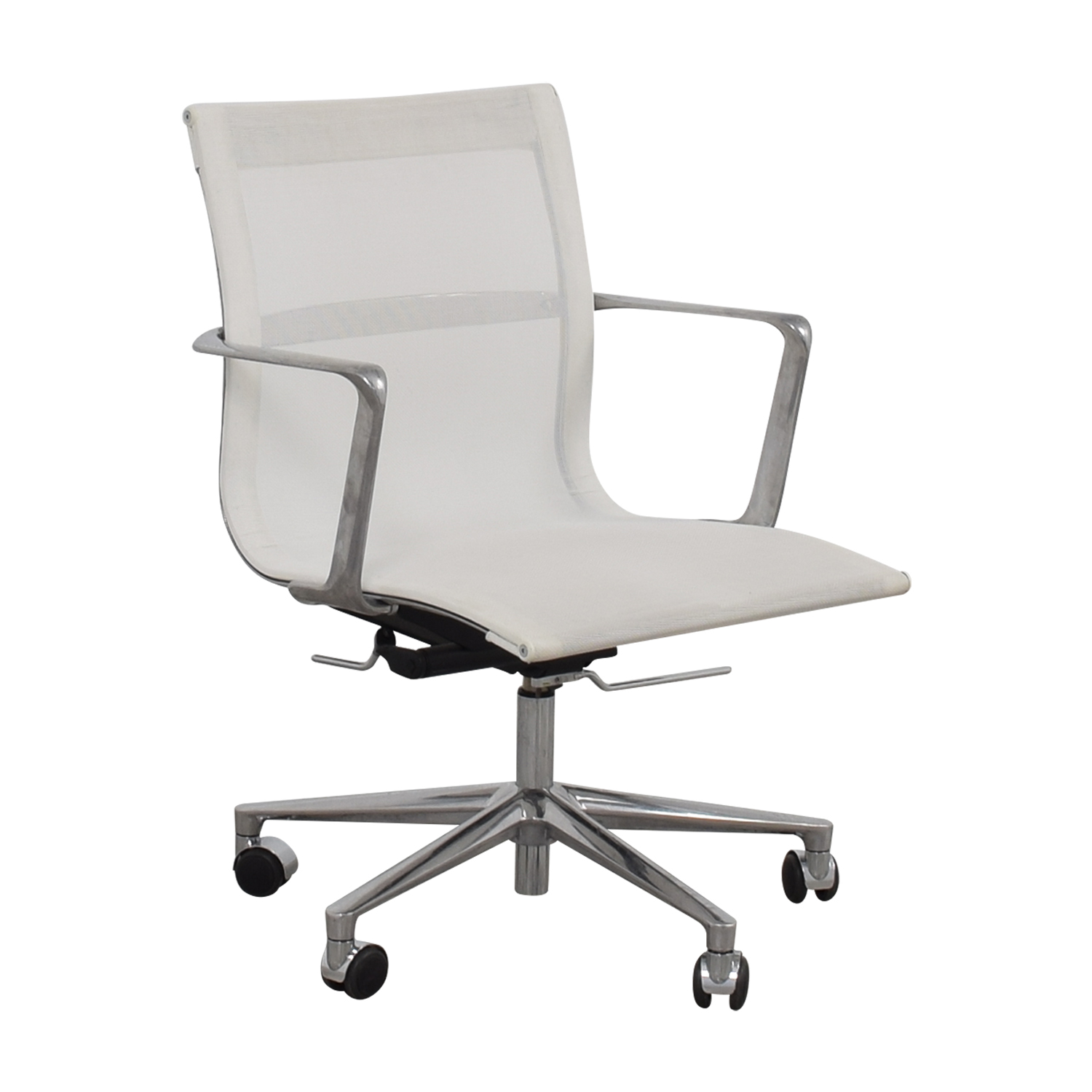 International Catsana Furniture Una White Mesh Chair sale