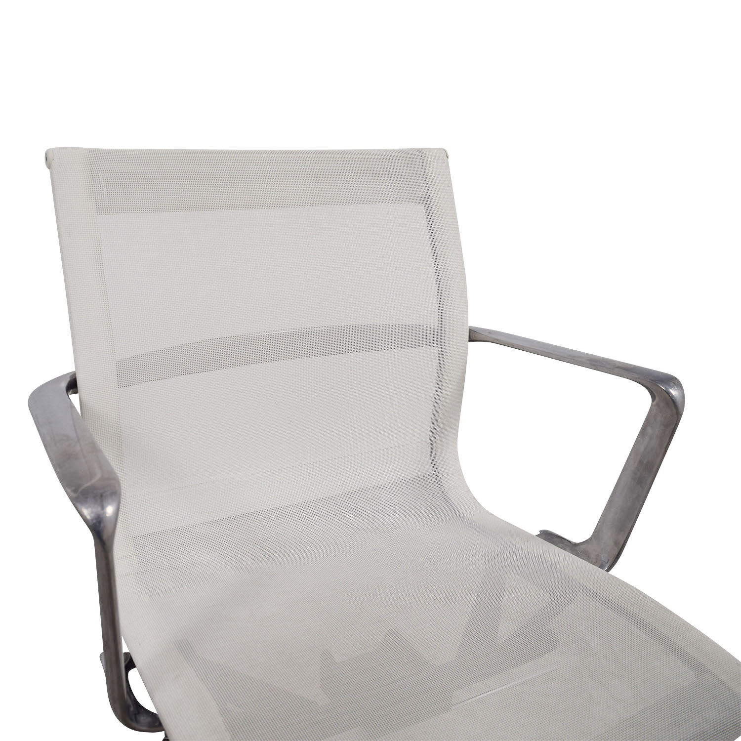 International Catsana Furniture International Catsana Furniture Una White Mesh Chair for sale