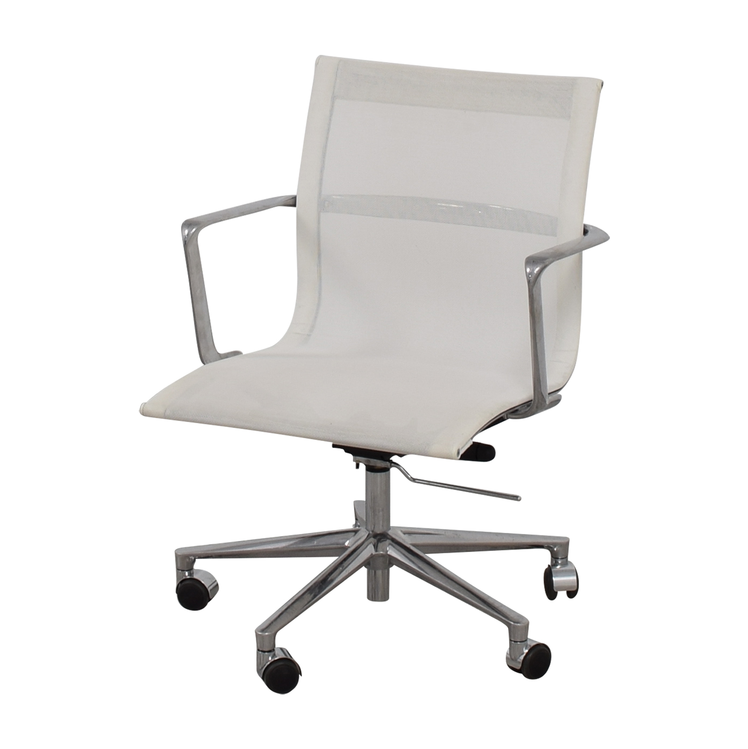 shop International Catsana Furniture International Catsana Furniture Una White Mesh Chair online