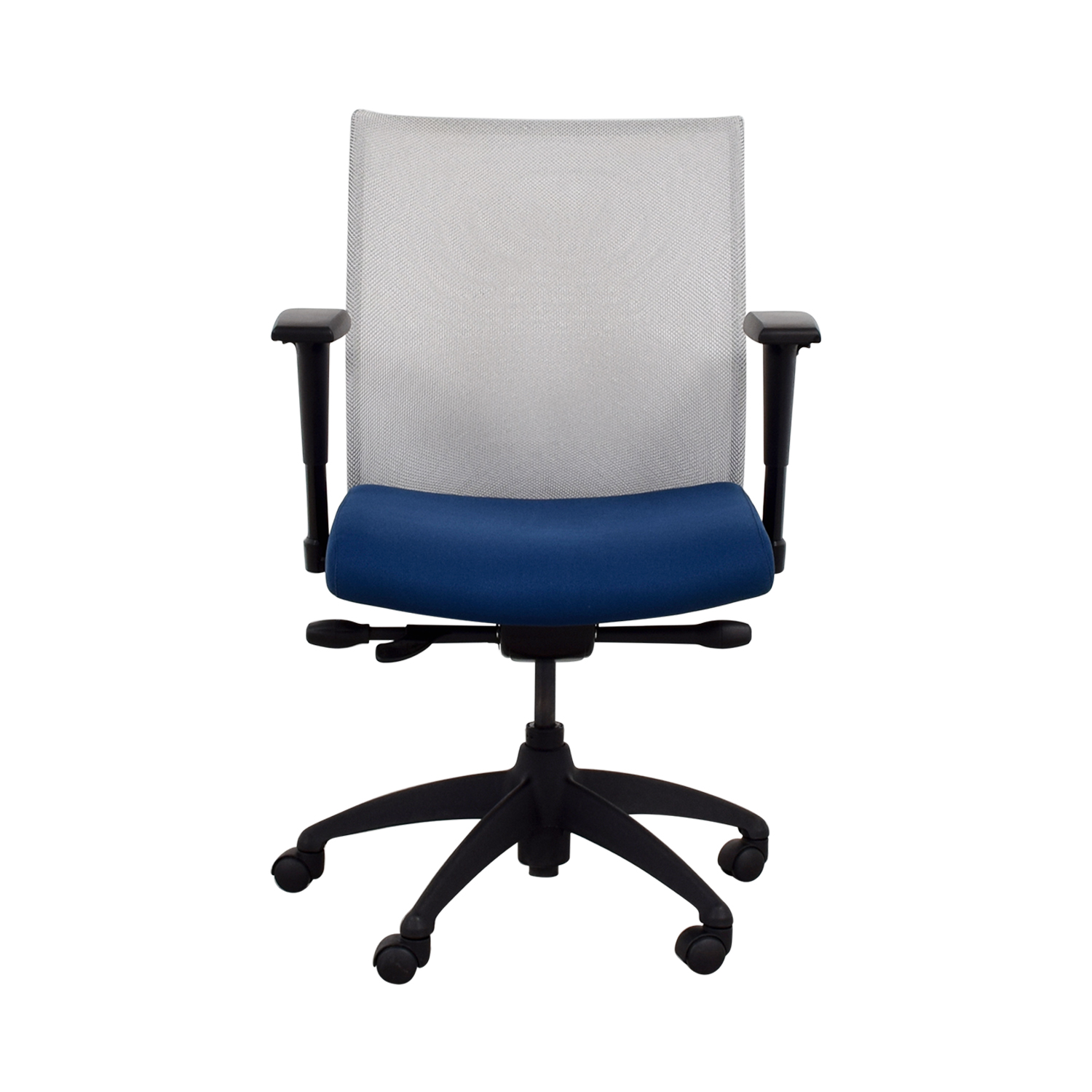 buy Stylex Adjustable Arm Blue Task Chair Stylex