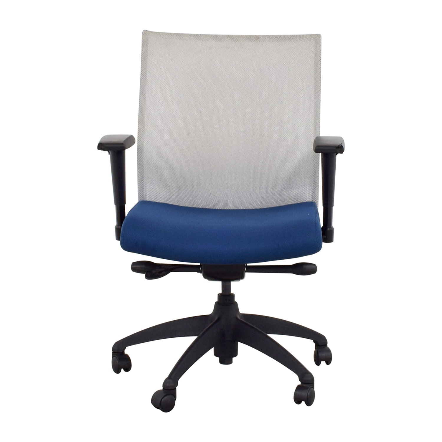 buy Stylex Blue Arm Task Chair Stylex Home Office Chairs