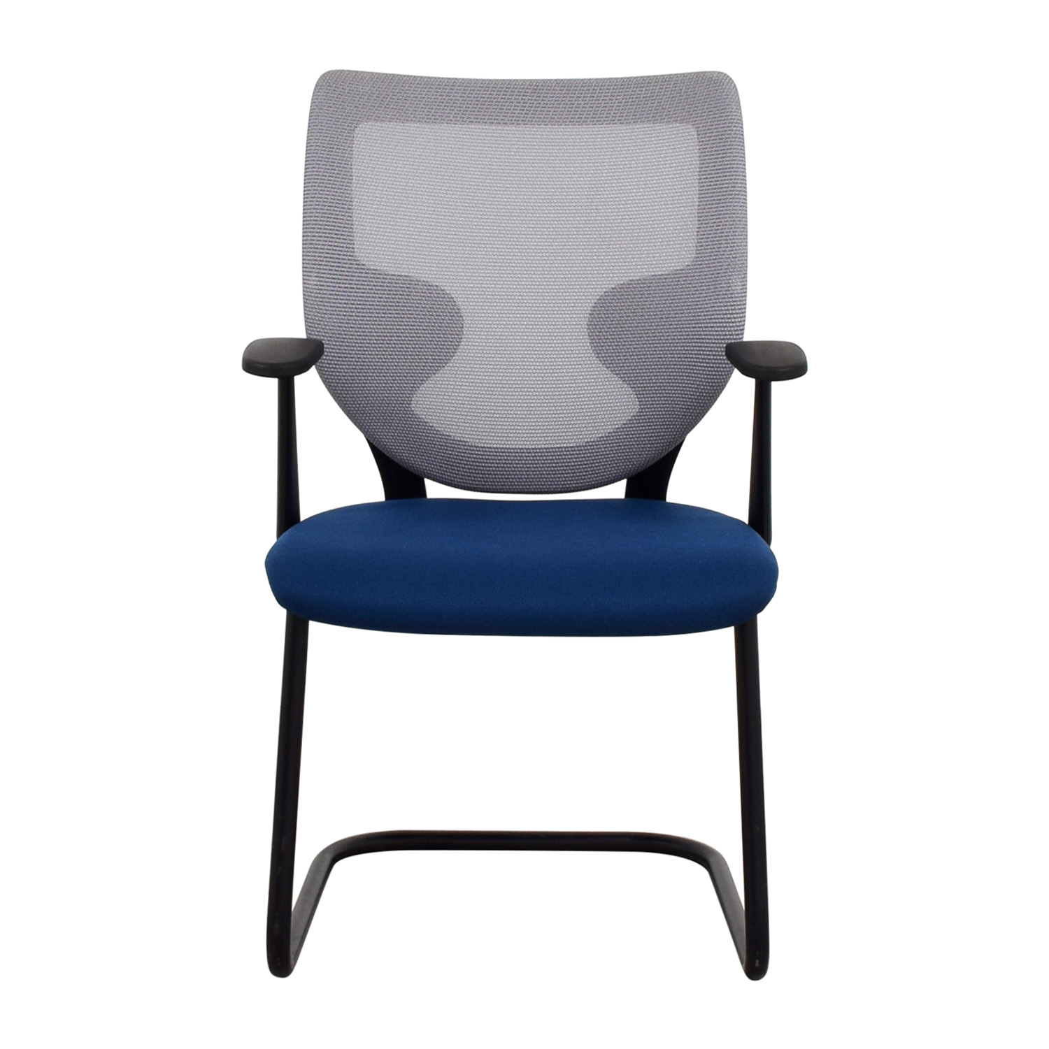 Awe Inspiring 90 Off Keilhauer Keilhauer Blue Mesh Chair Chairs Caraccident5 Cool Chair Designs And Ideas Caraccident5Info