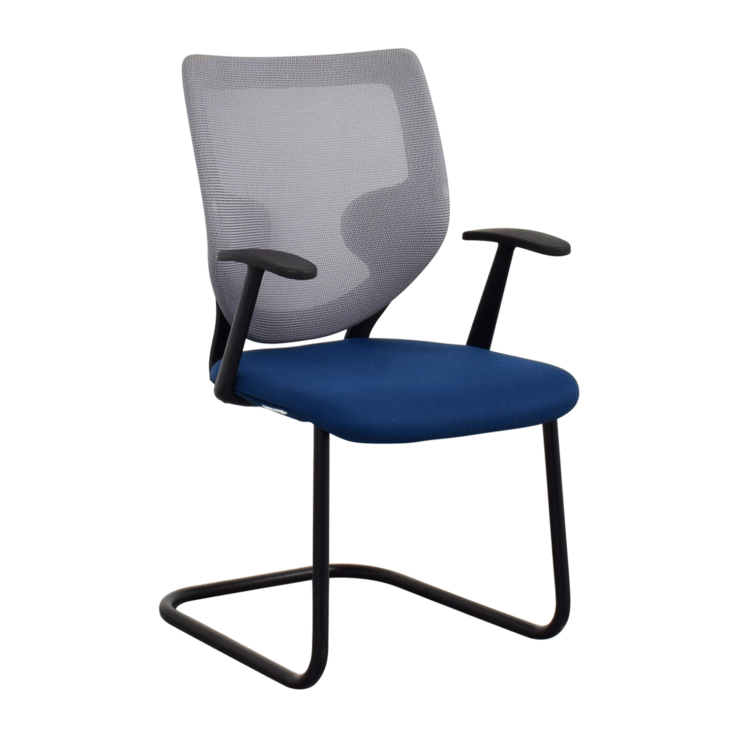 90 off keilhauer keilhauer blue mesh chair chairs for Furniture 90 off