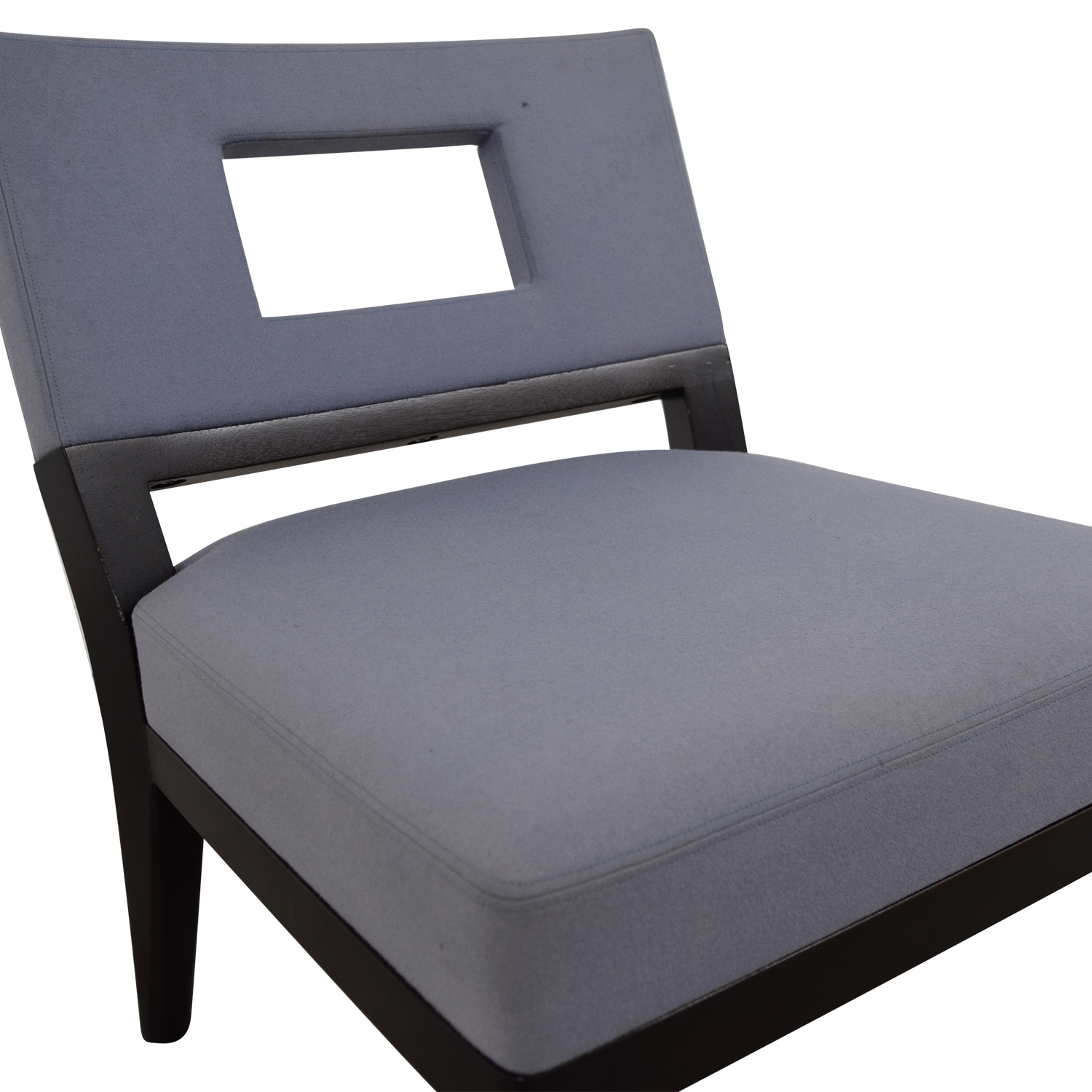 buy Christian Liaigre Light Blue Upholstered Chair Christian Liaigre