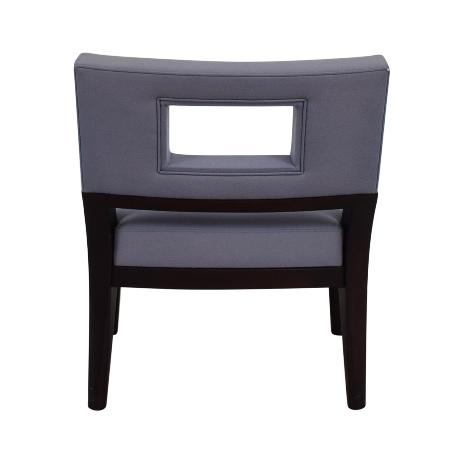 Christian Liaigre Christian Liaigre Light Blue Upholstered Chair nj