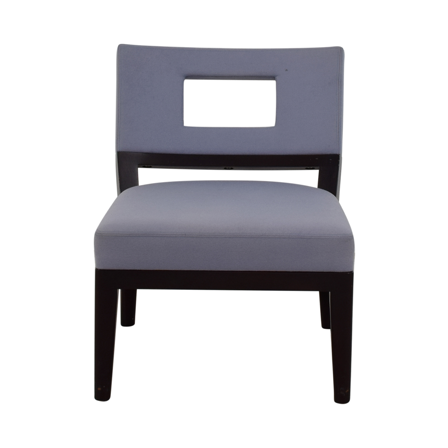 shop Christian Liaigre Light Blue Upholstered Chair Christian Liaigre Chairs