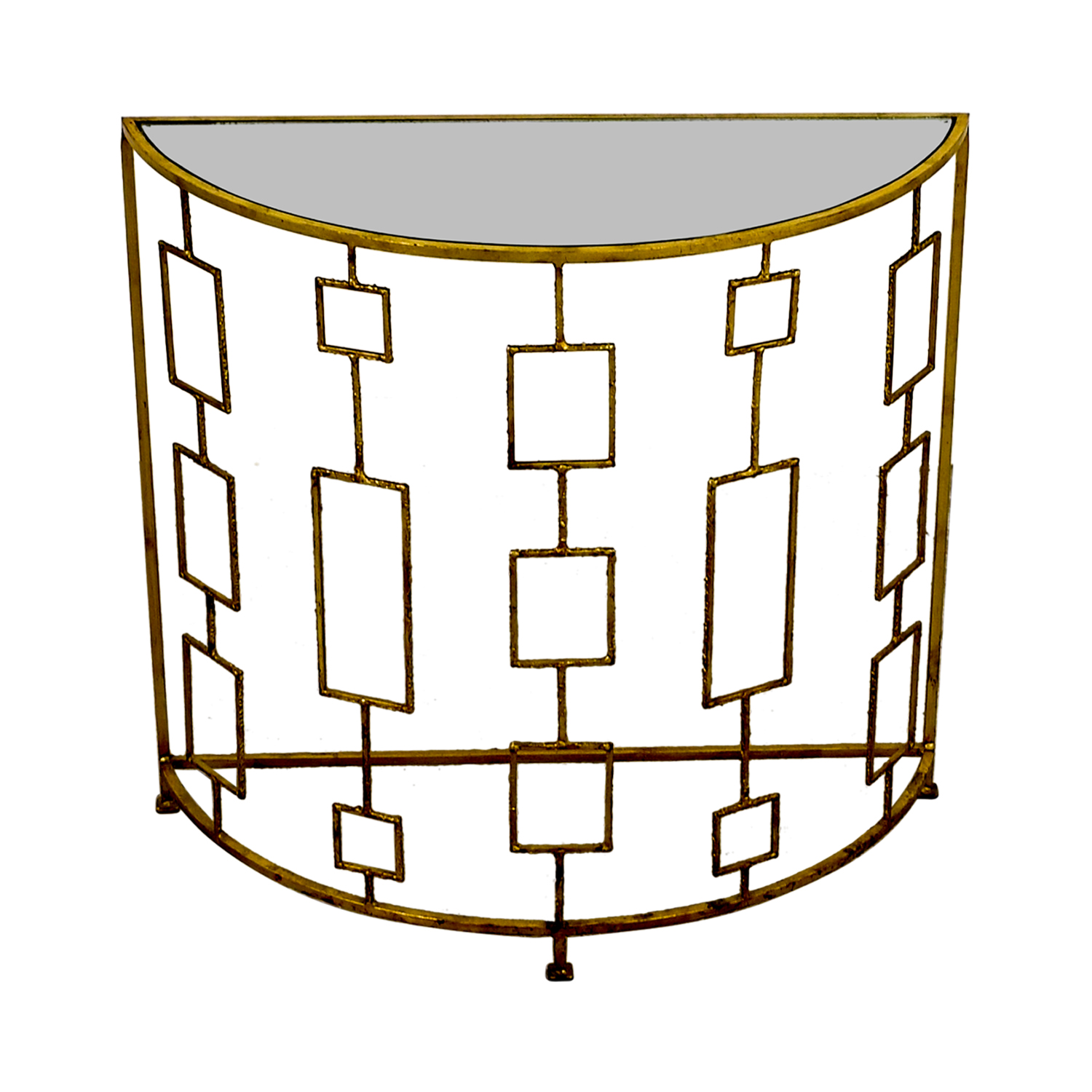 shop Art Deco Gold Console Decorative Accents