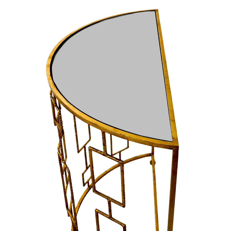 Art Deco Gold Console / Decorative Accents