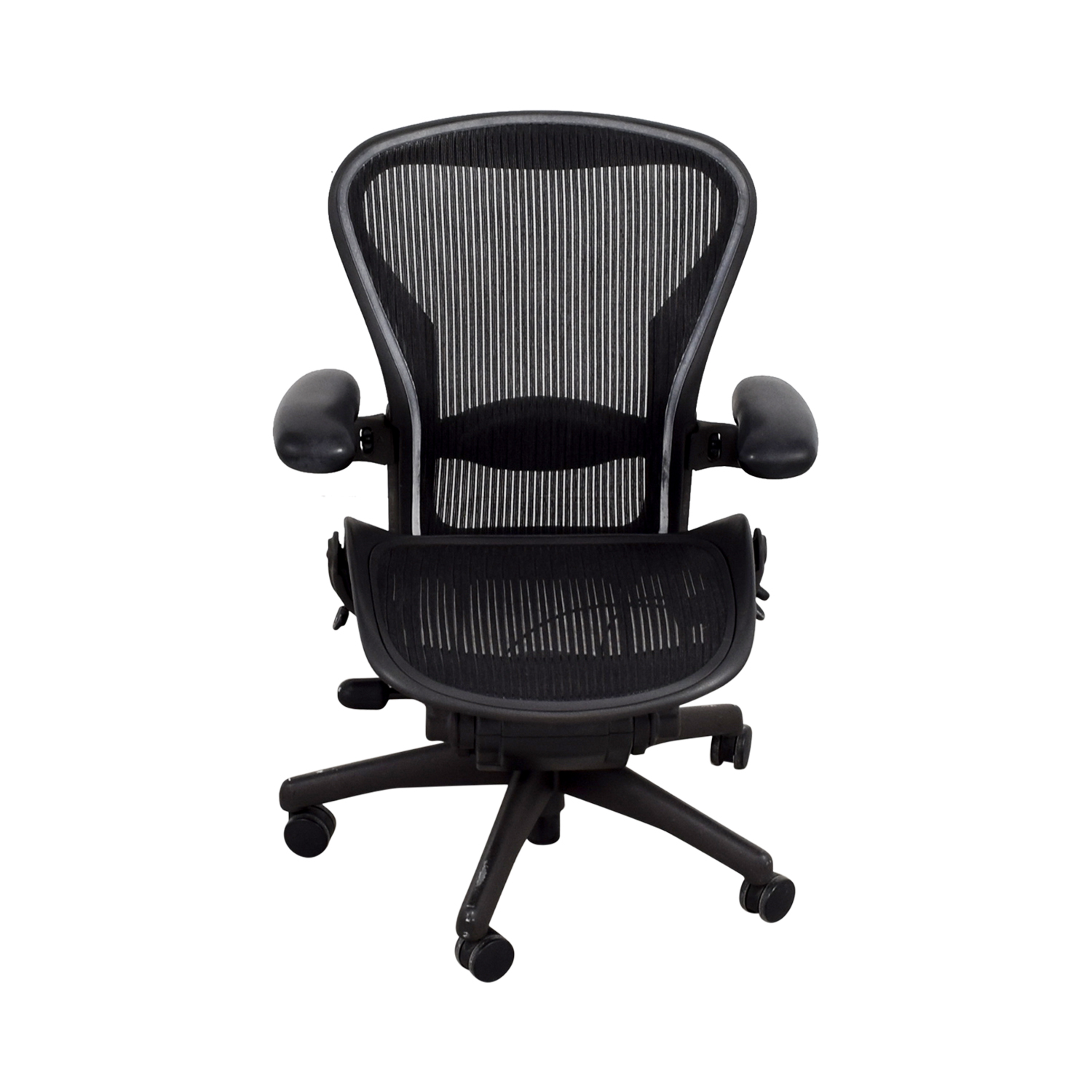 Herman Miller Herman Miller Aeron Miller Black Desk Chair Black