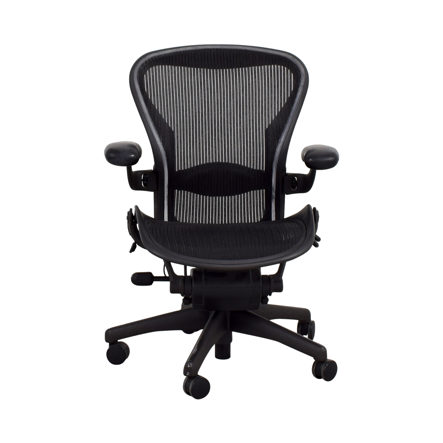 High Quality Herman Miller Herman Miller Aeron Miller Black Desk Chair Nyc