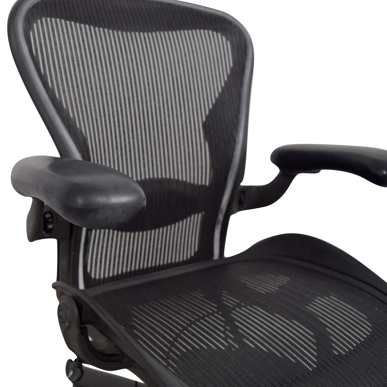 ... Shop Herman Miller Aeron Miller Black Desk Chair Herman Miller Chairs