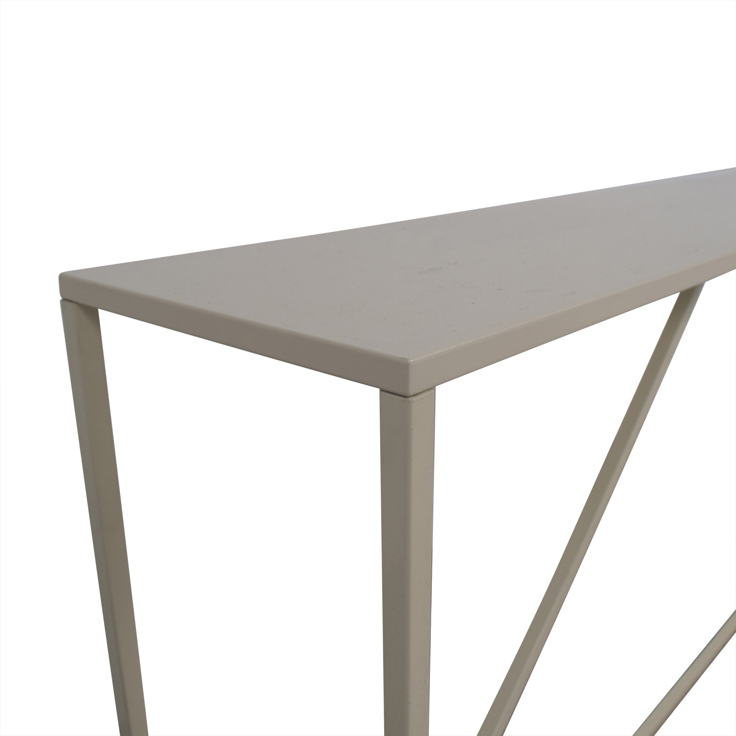 Blue Dot Blue Dot White Lacquer Console used