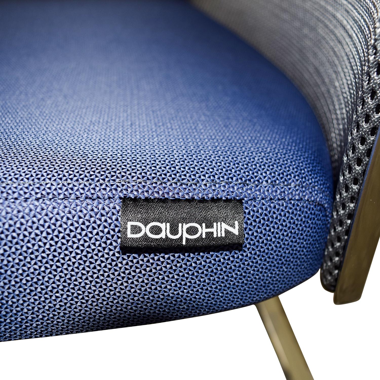 Interstuhl X565 Blue and Chrome Chair sale