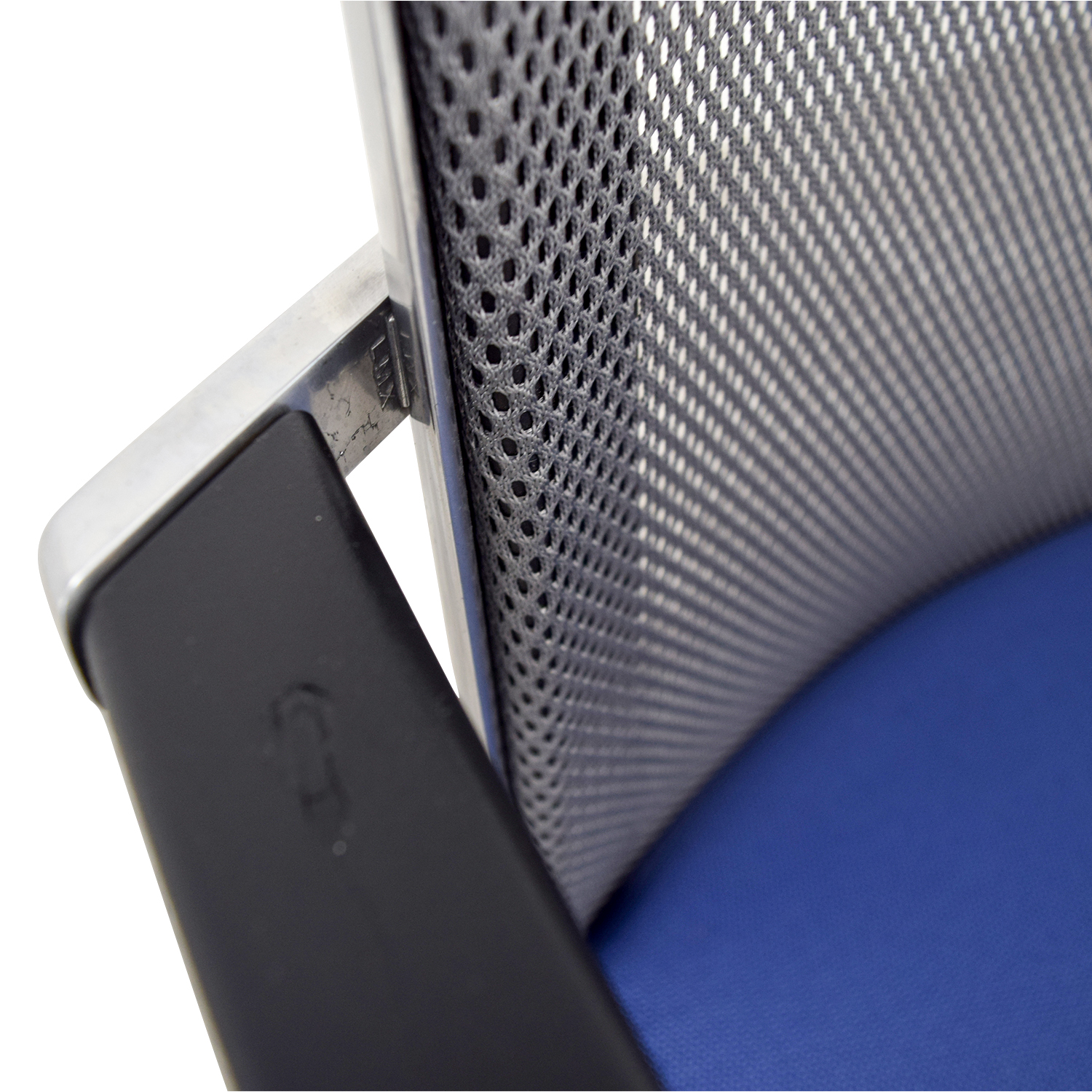 Interstuhl Interstuhl X565 Blue and Chrome Chair for sale