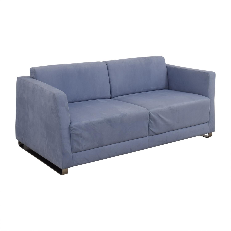 Bernhardt Milix Light Blue Sofa / Classic Sofas