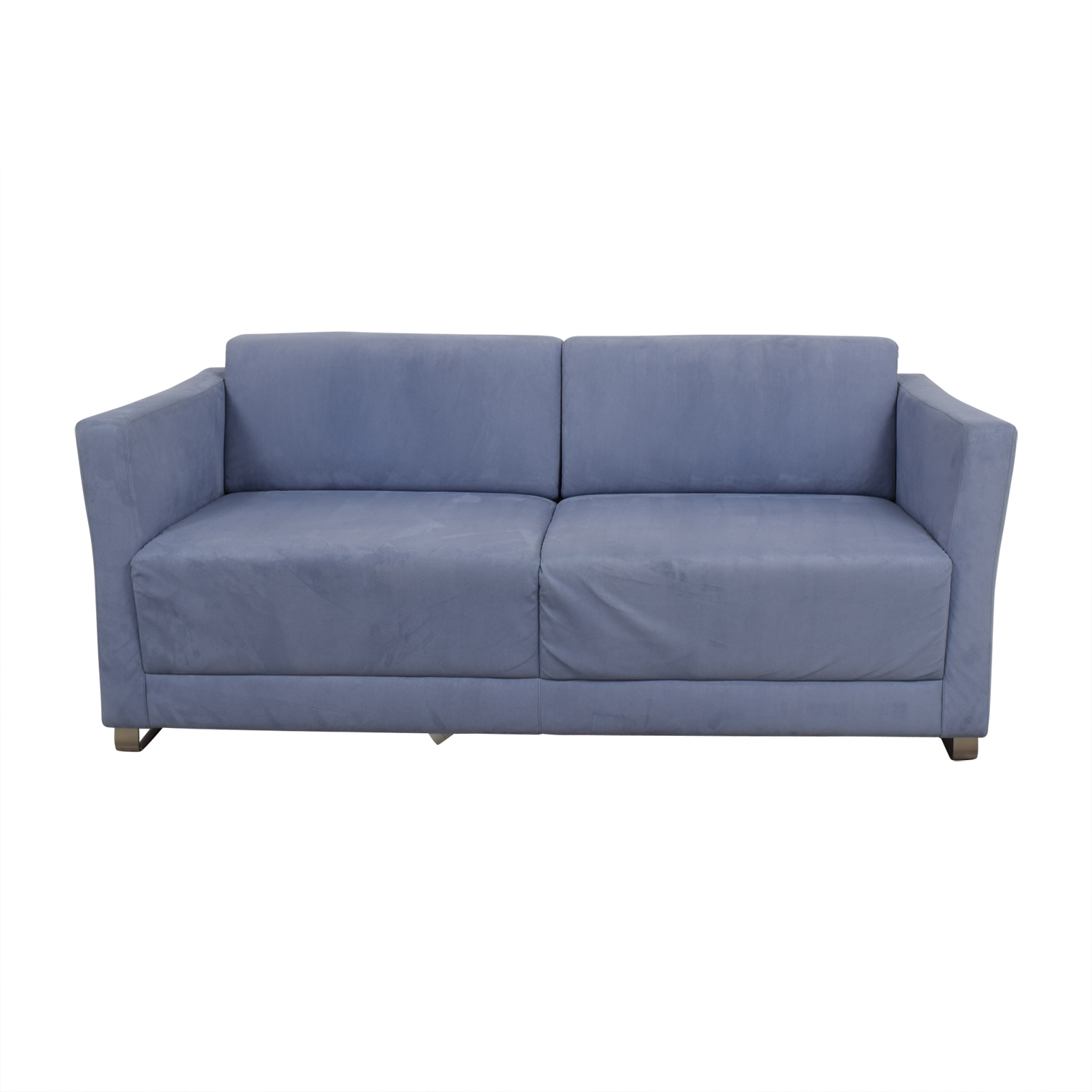 Bernhardtt Bernhardt Milix Light Blue Sofa nj