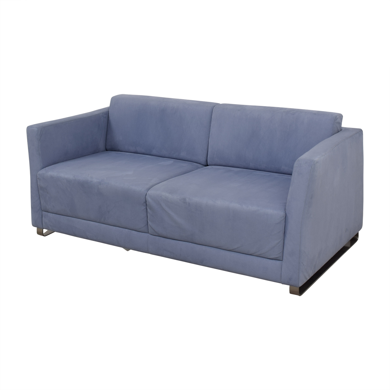 ... Bernhardtt Bernhardt Milix Light Blue Sofa Used ...