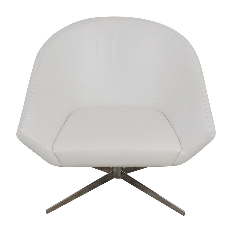 Benhardt Bernhardt Remy Fundamental White Chair on sale