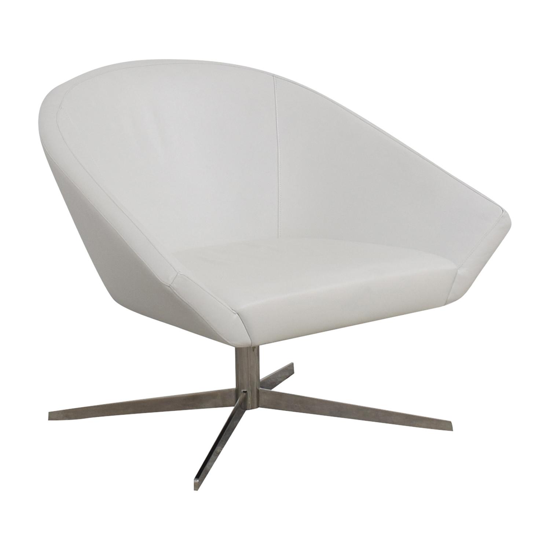Bernhardt Remy Fundamental White Chair sale
