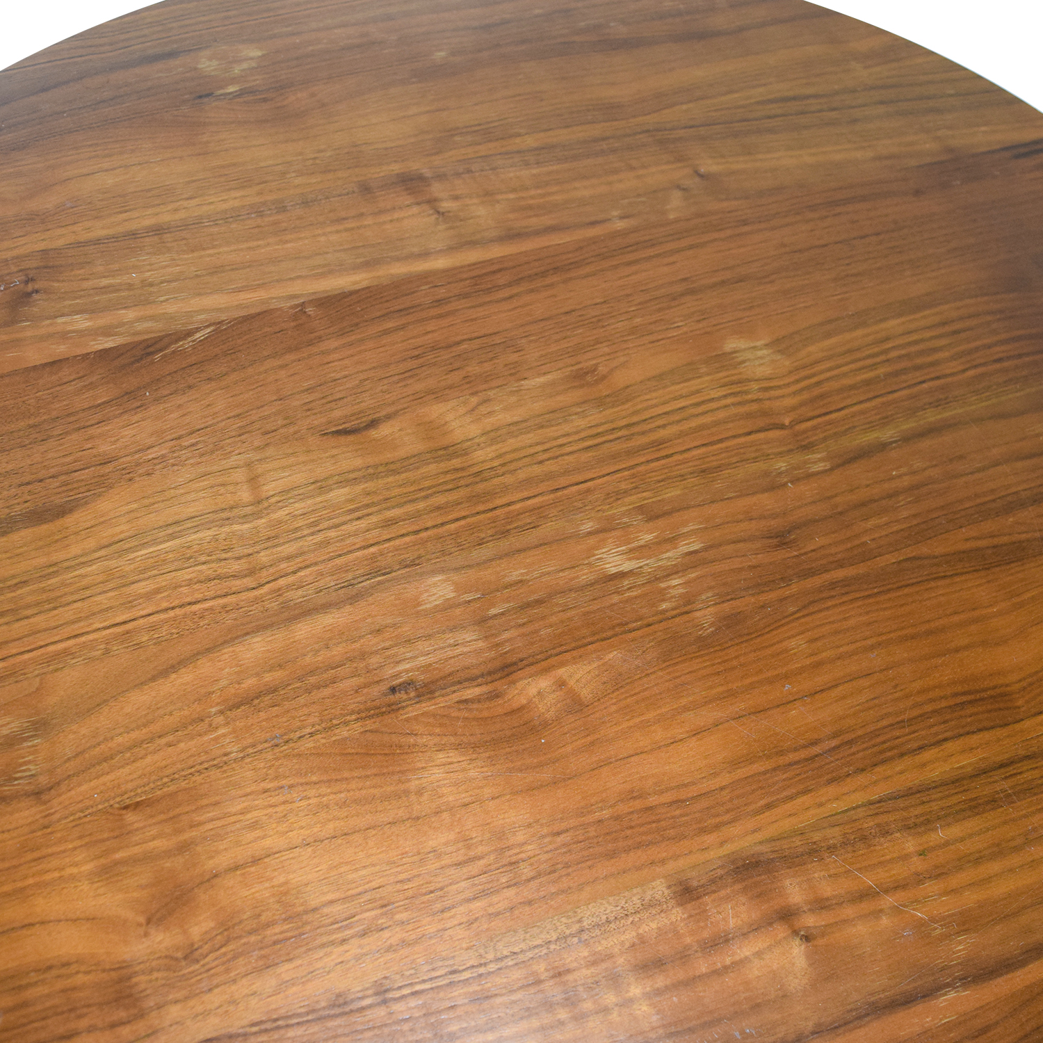 West Elm West Elm Round Wood Dining Table Cherry