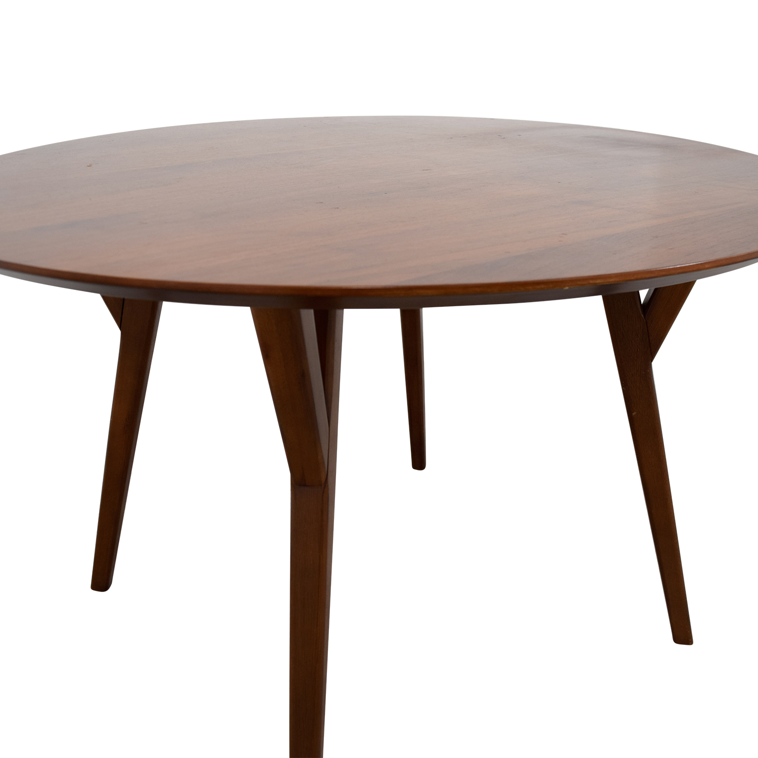 West Elm Round Wood Dining Table / Dinner Tables