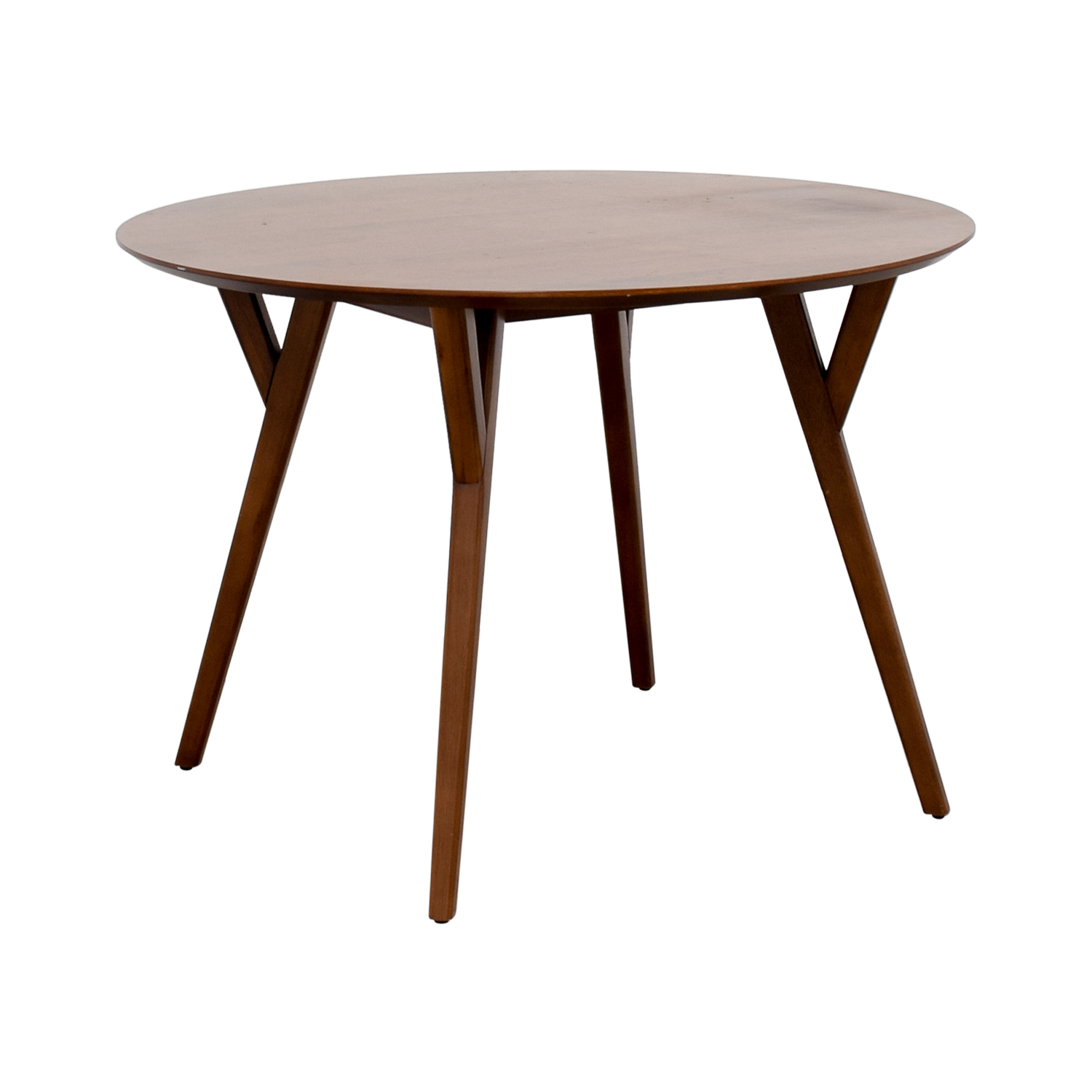 West Elm West Elm Round Wood Dining Table Dinner Tables