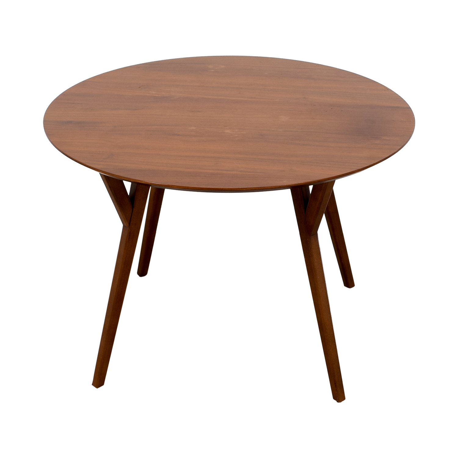 West Elm Round Wood Dining Table West Elm