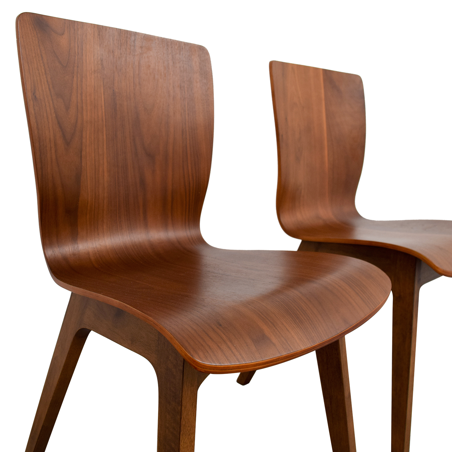 West Elm West Elm Crest Brentwood Chairs dimensions