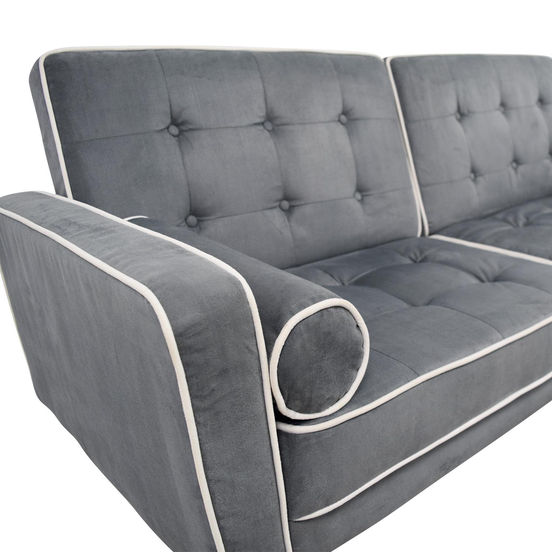 45 Off Wayfair Wayfair Grey Tufted Sofa Bed Sofas