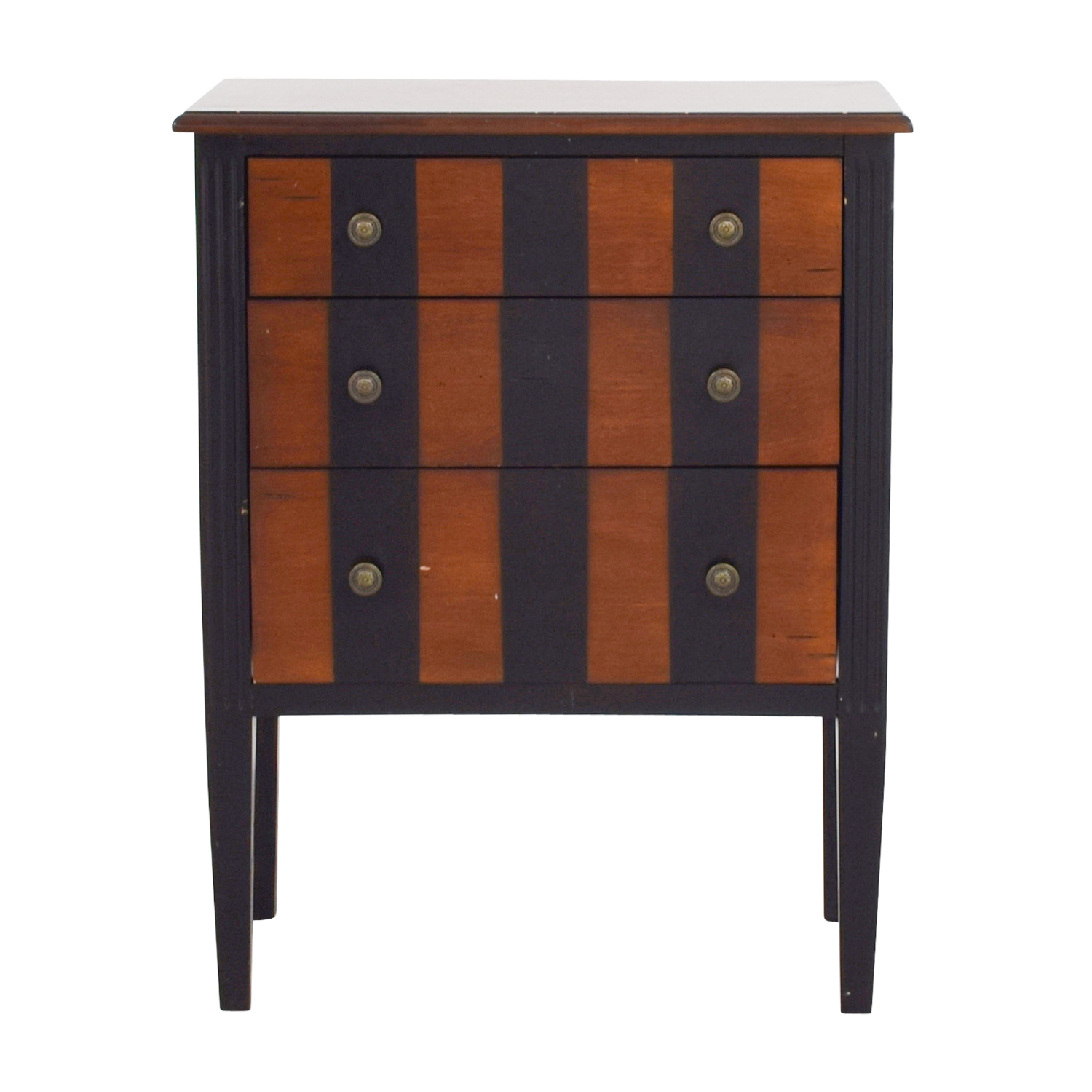 Pier 1 Imports Striped Side Table / End Tables