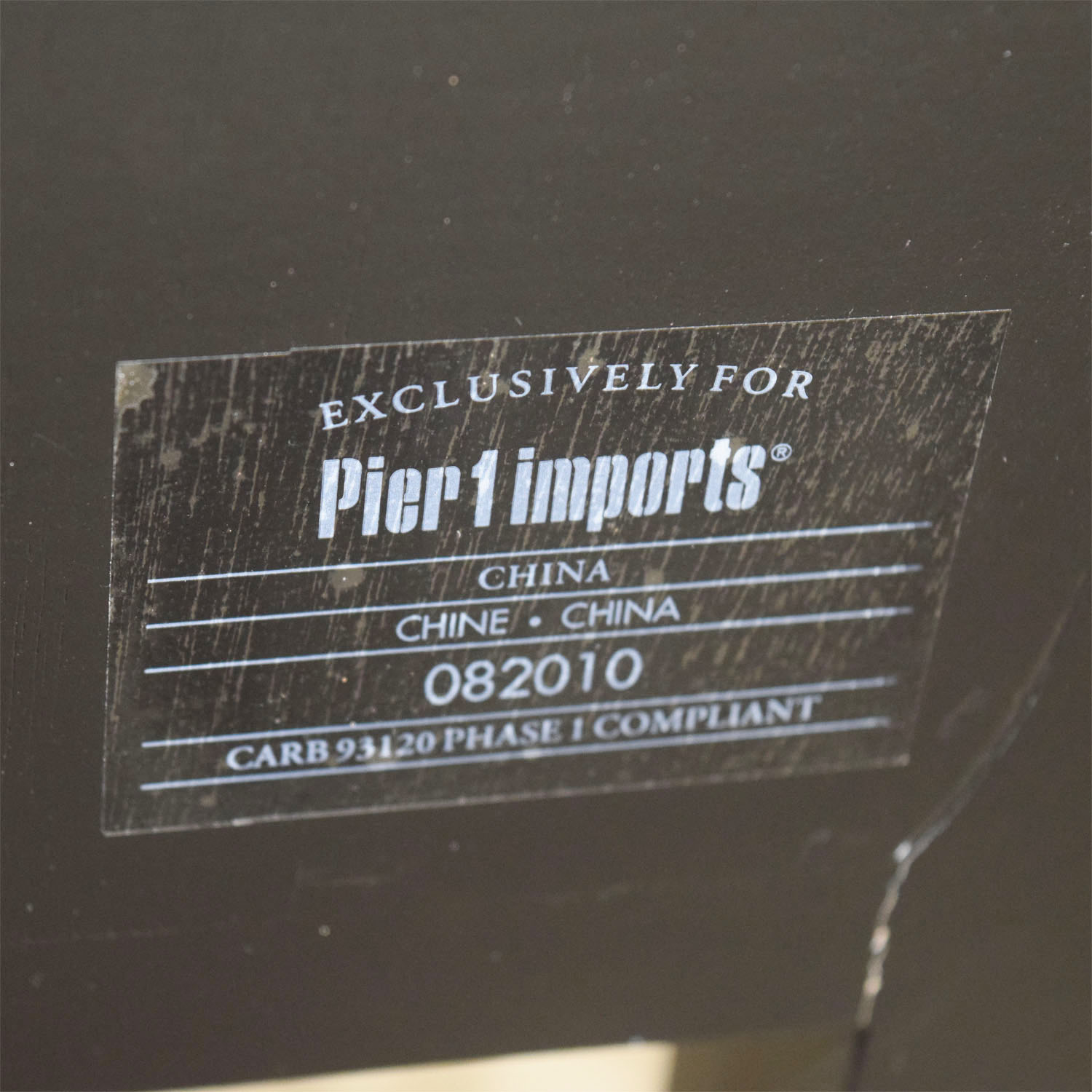 Pier 1 Imports Pier 1 Imports Striped Side Table discount