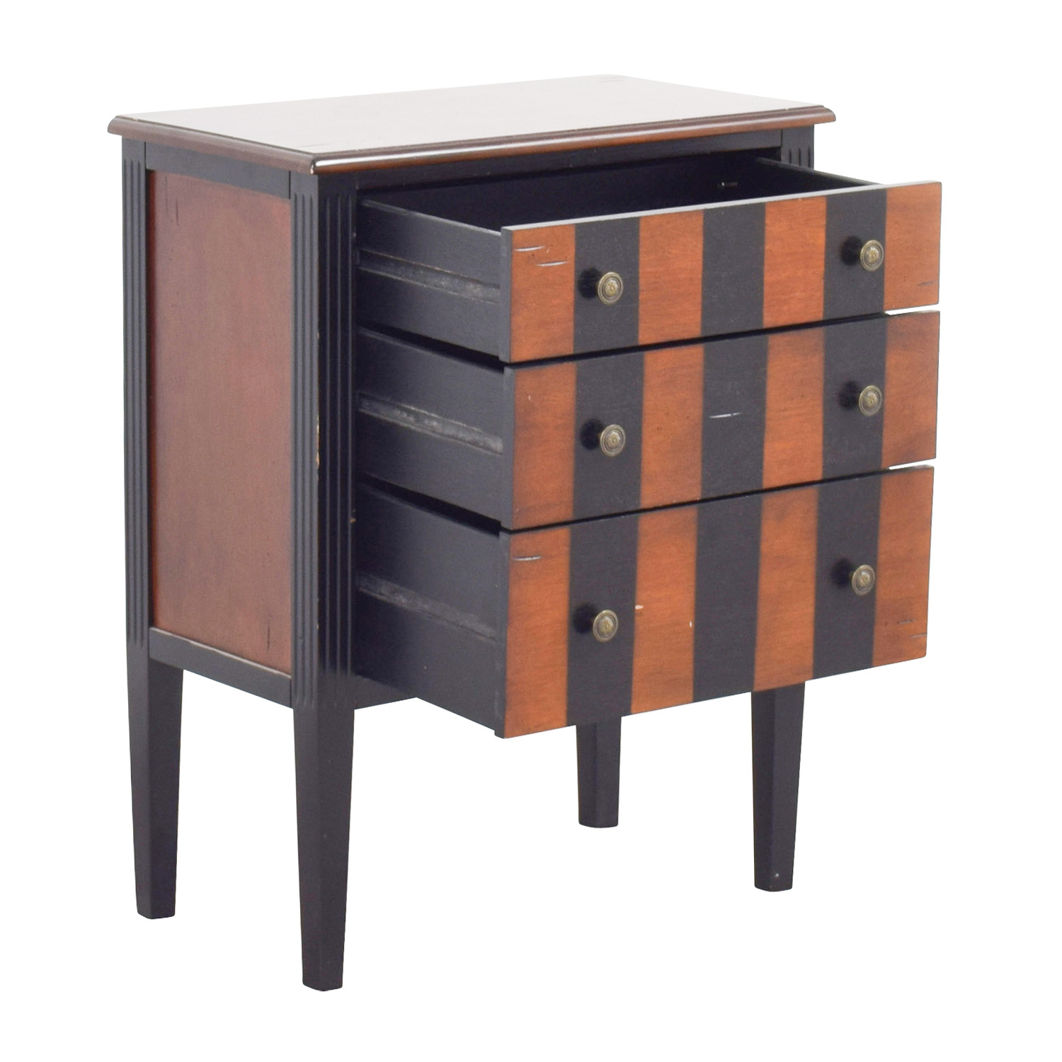buy Pier 1 Imports Pier 1 Imports Striped Side Table online
