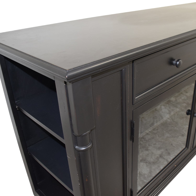 Ebony Highboy TV Console on sale