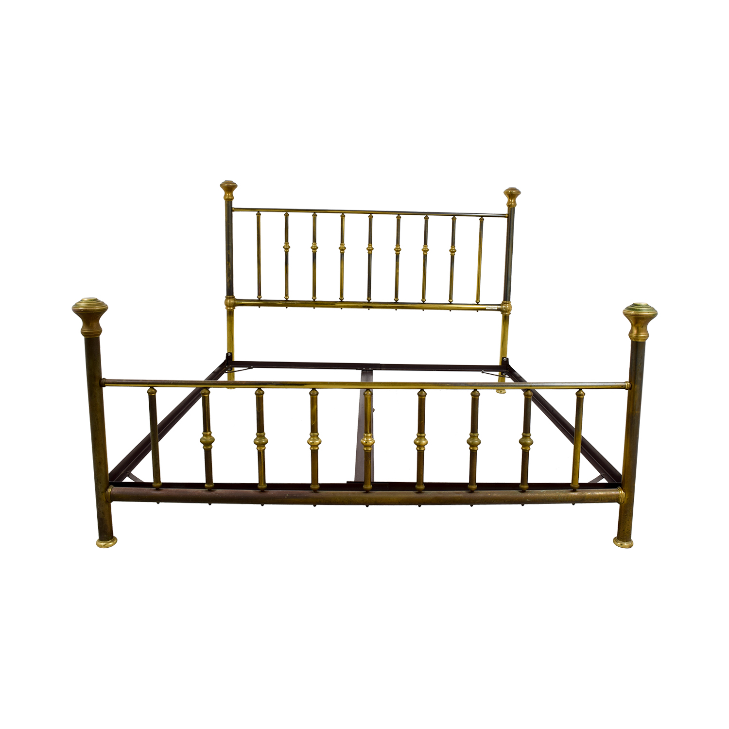 buy Charles P. Rodgers Putnam King Brass Bed Frame Charles P. Rodgers Beds